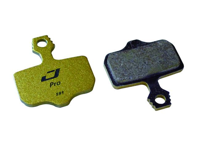Jagwire Mountain Pro Remblok & Remschoen Avid Elixir CR/R zwart/goud